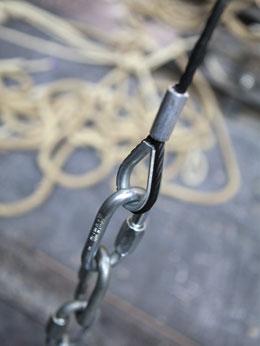 élingue câble acier