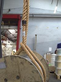 élingue corde, cordage Godet