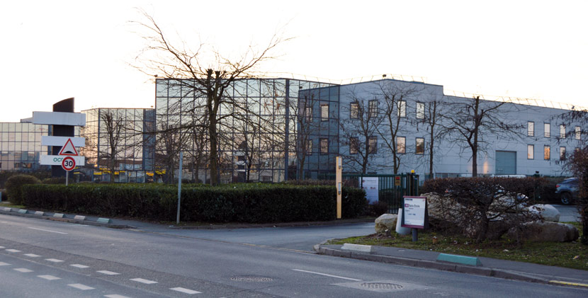 bâtiment extérieur Godet à Roissy-en-France